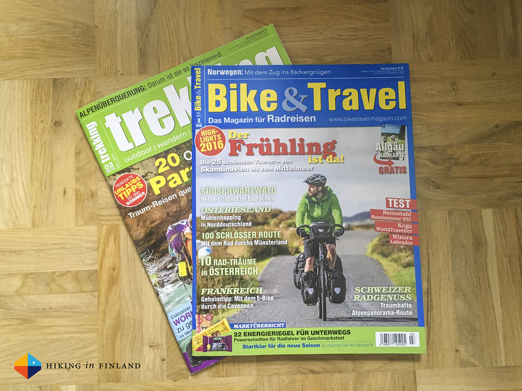 Bike & Travel and trekking Magazin