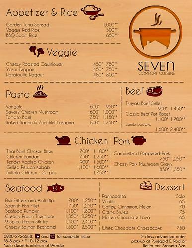 seven comfort cuisine