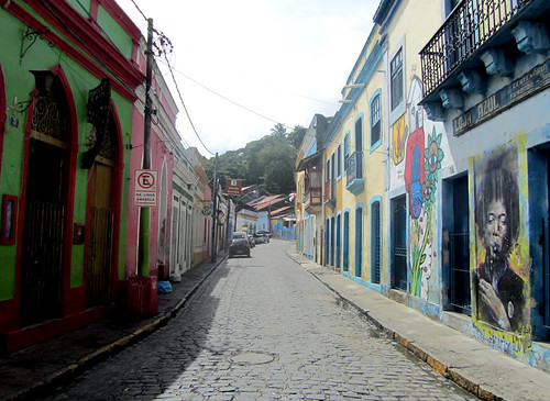 Strolling on the streets of Olinda
