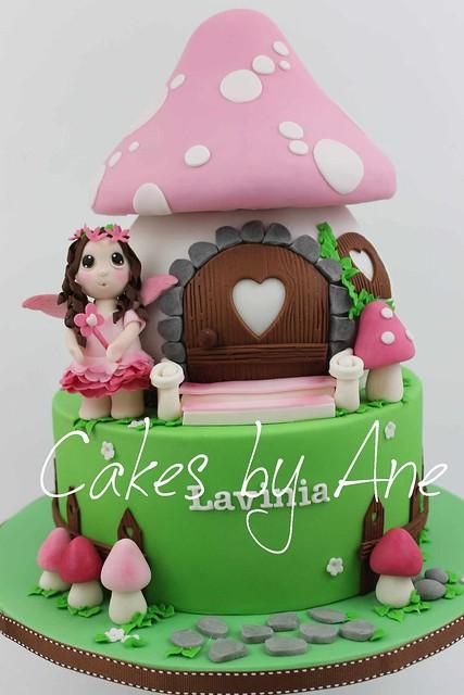 Mushroom Fairy House Cake of Cakes by Ane