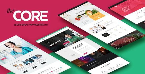 The Core v1.0.8 - Multi-Purpose WordPress Theme