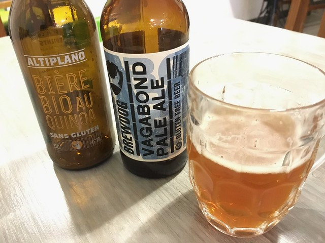 La Coutinelle gluten-free Brewdog and quinoa beers Montpellier France