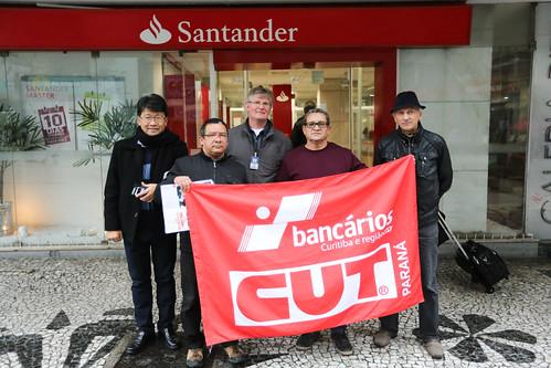 Dia Nacional de Luta no Santander