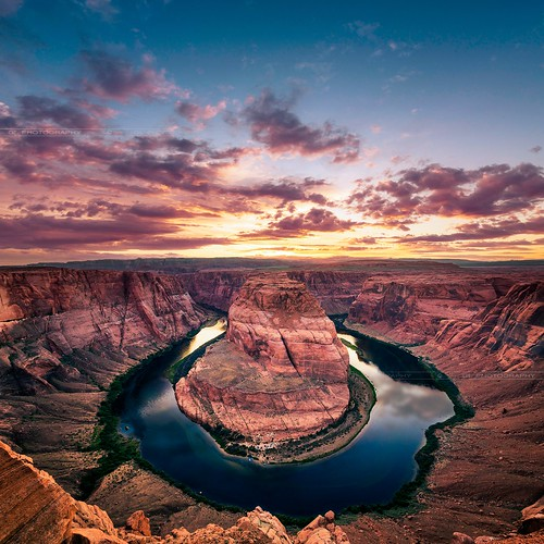 travel sunset arizona usa nature beautiful beauty landscape outdoors nikon rocks d800 horseshoebend d800e