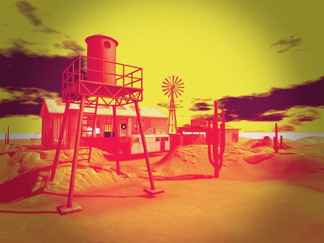 Radio Geko - Heatwave On A Desert Plain
