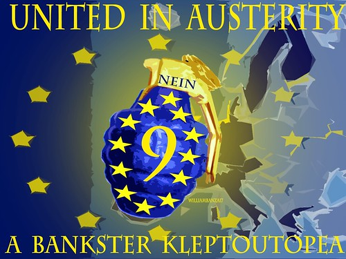 UNITED IN AUSTERITY by WilliamBanzai7/Colonel Flick