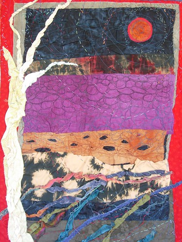 Red moon by Lorie McCown