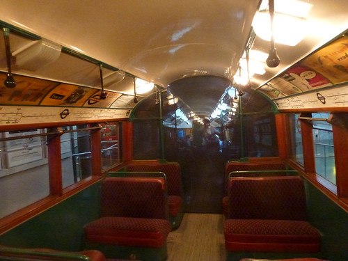 Interior of the 1938 Tube Stock