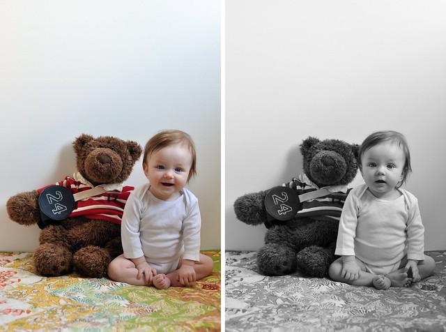hazel 6 months blog
