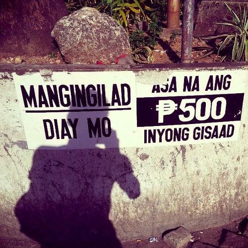 Vote buying? Shameful. LOL. #Philippines #Election2013 #PhilippineElection2013 #Cebu #Mactan #LapuLapu #DaWho #VoteBuying #Money #Shadow #Disgraceful #Shameful #Cebuano #ItsMoreFuninThePhilippnes #ItsMoreFuninThePhilippines #IgersBisaya #IgersPinoy #Igers