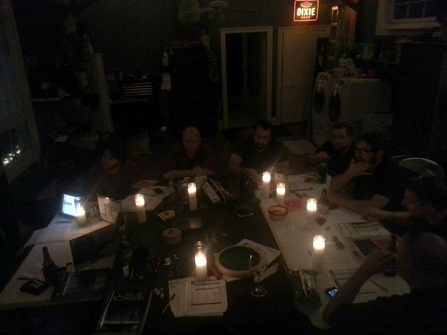 Call of Cthulhu by candlelight