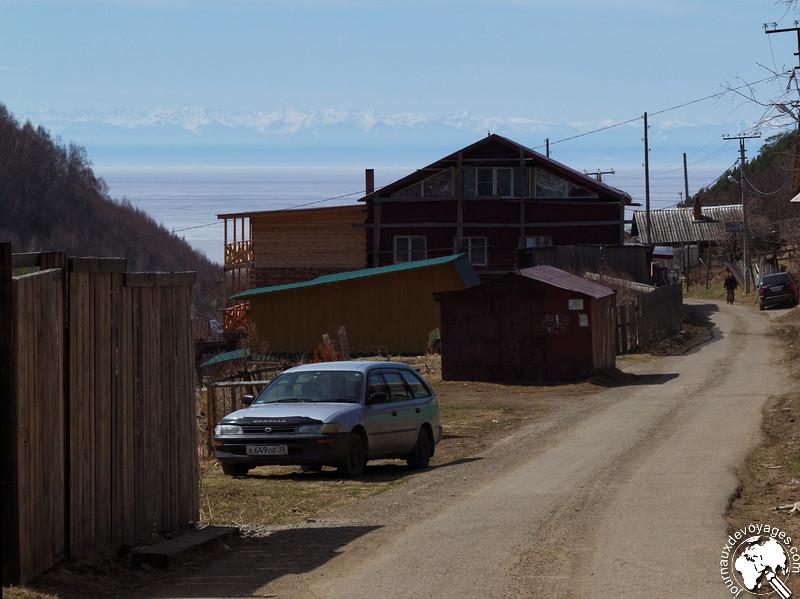Hauteurs de Litsvianka dominant le Lac Baïkal