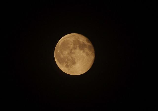 満月のあと