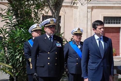 Ministro Maurizio Lupi a Civitavecchia per il passaggio di consegne del Comandante Generale delle Capitanerie di Porto – Guardia Costiera (1)