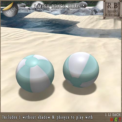 GIFT ! *RnB* Mesh Beach Balls - SFF Gift