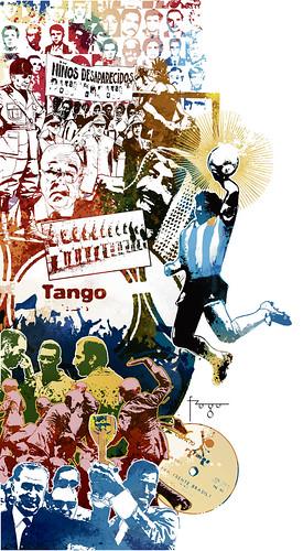 Futebol x Política by Fragadesenhos