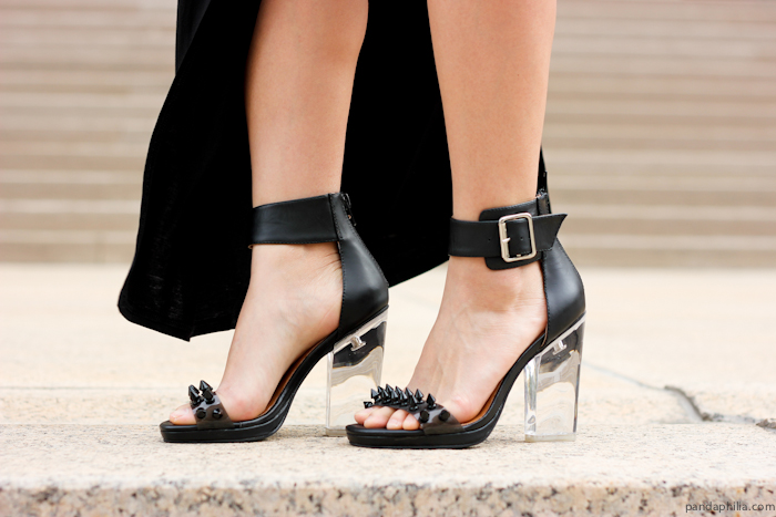 jeffrey campbell soiree spike lucite heel