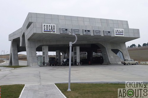Modern service station in GeorgiA