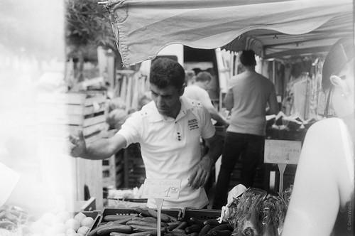 Vegetable stand vendor 1