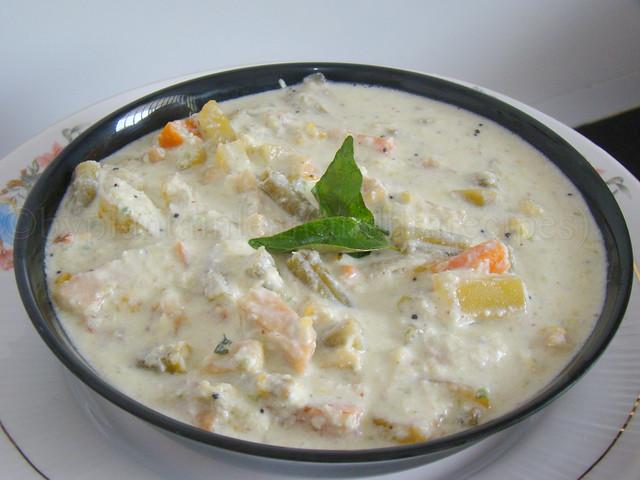 mix veg perugupachadi 1