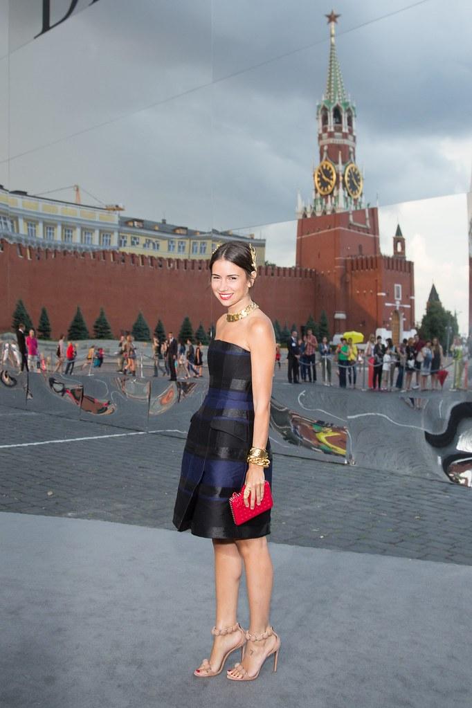 Natalia Goldenberg - Photo Viktor Boyko Dior Moscow 2013