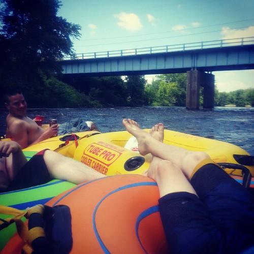#Floating #downstream