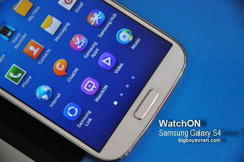 Samsung Galaxy S4 WatchON 1