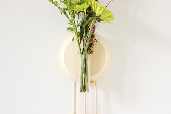 Fabric Paper Glue | Trade & Made DIY Wooden Wall Vase 10