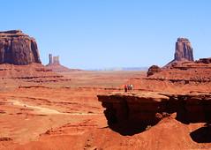 Big trail dans l'Ouest américain