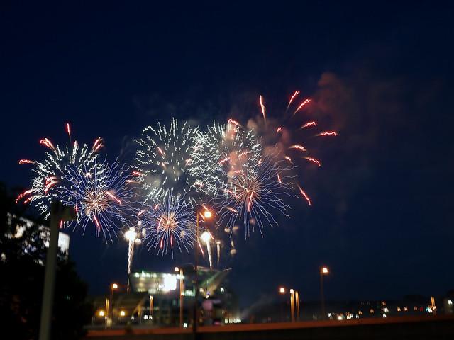 Bengals fireworks