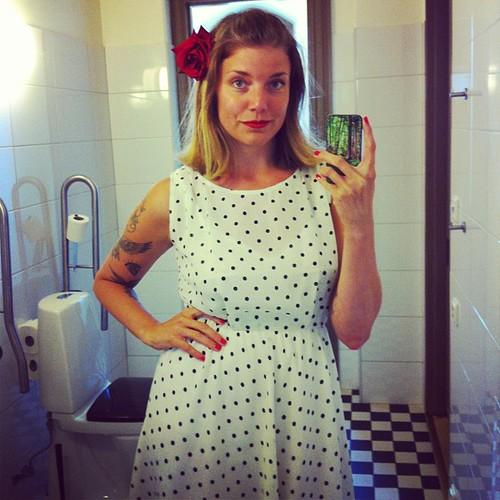 Är kär i min klänning!