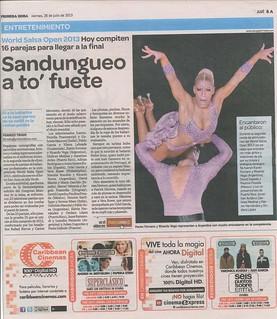 David and Paulina - News - 2013 Primera Hora - 7-26-2013 3