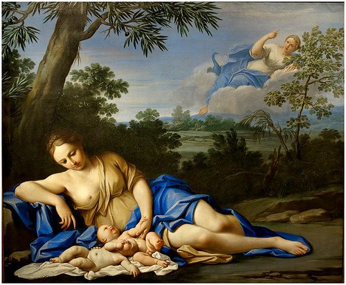 Birth of Apollo and Diana by Marcantonio Franceschini