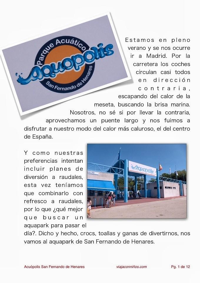 Aquópolis San Fernando de Henares
