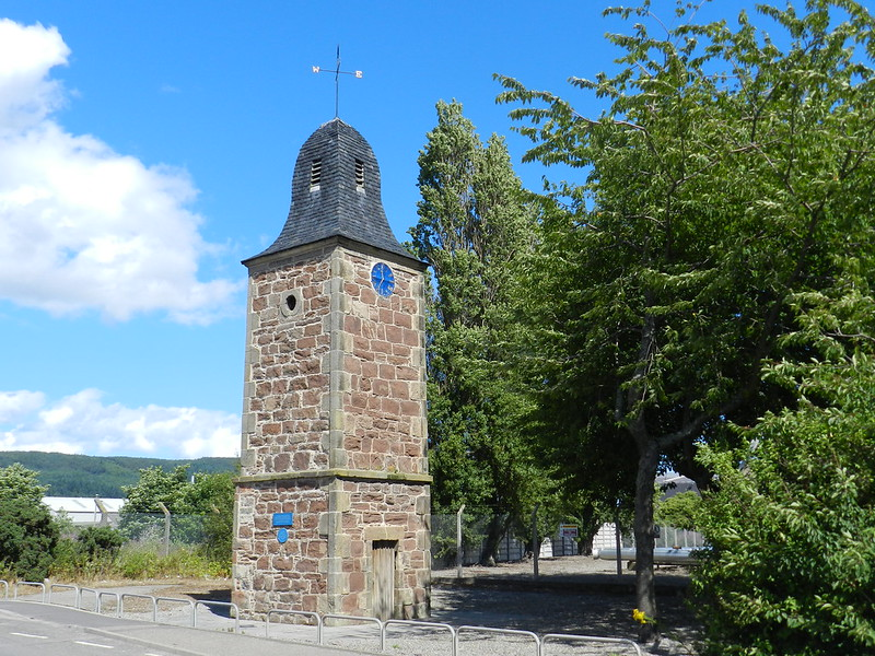 Inverness Clock Tower, Cromwell Road, Inverness, August 2013