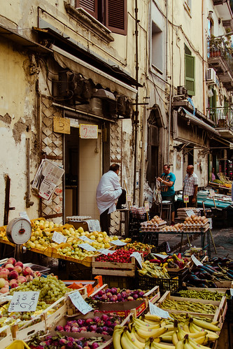 Naples markets #1 by Davide Restivo
