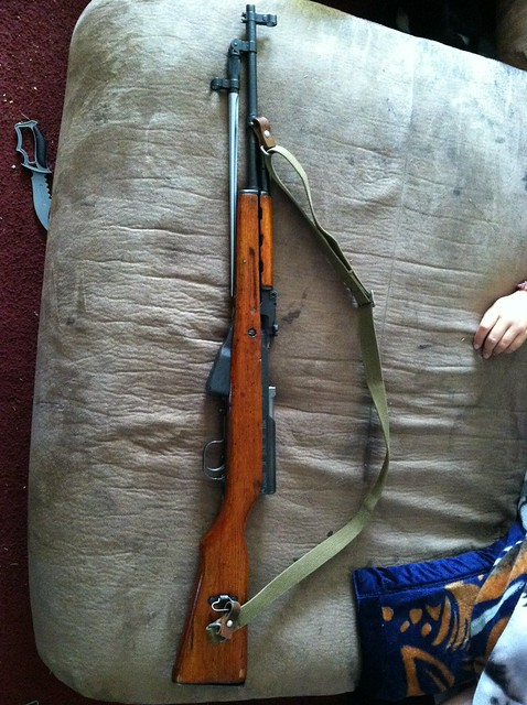 SKS Crack: Please Advise - AK & SKS Discussion