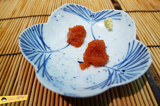 Sushi Sho - Tokyo - trout roe sack