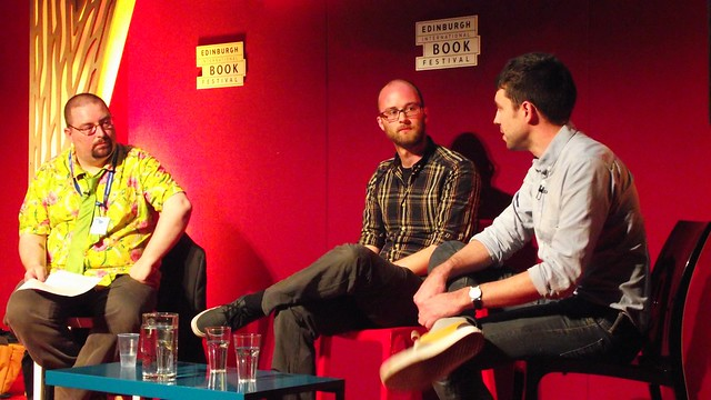 Edward Ross & Will Morris at Edinburgh Book Fest 2013 04