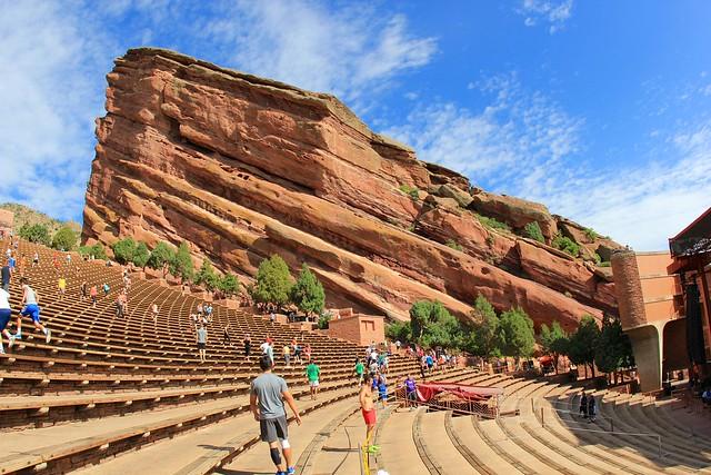 Red Rocks Amphitheater by CC user daveynin on Flickr