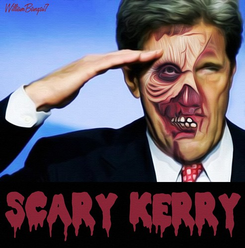 SCARY KERRY by WilliamBanzai7/Colonel Flick