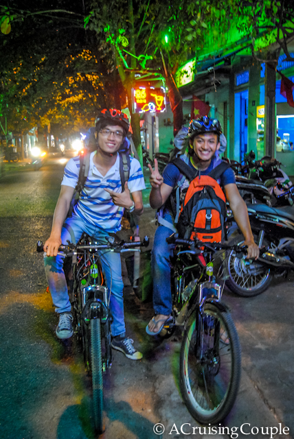 Couchsurfing Friends Vietnam Bikes