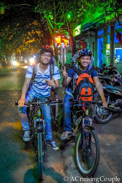 Couchsurfing Friends Vietnam Bikes