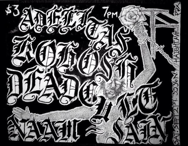 9/21/13 Adelitas/Kohosh/DeadCult/NaamSain