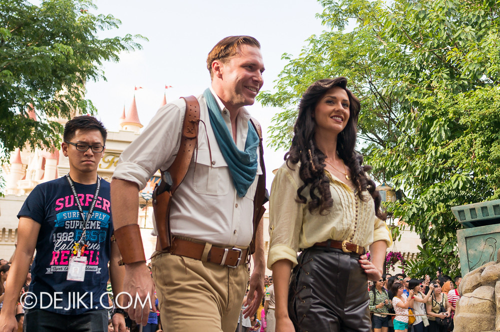 Universal Studios Singapore - Hollywood Dreams Parade - Ancient Egypt - O'Connell