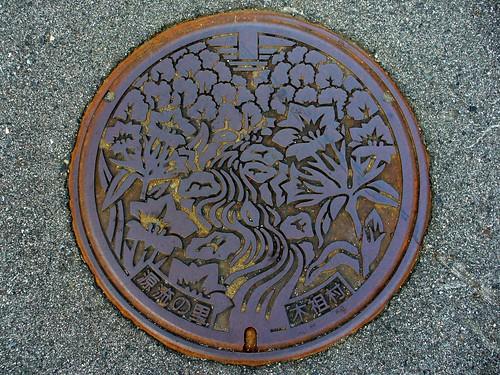 Kiso Nagano , manhole cover (長野県木祖村のマンホール)