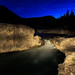 Elbow Falls Light Painted