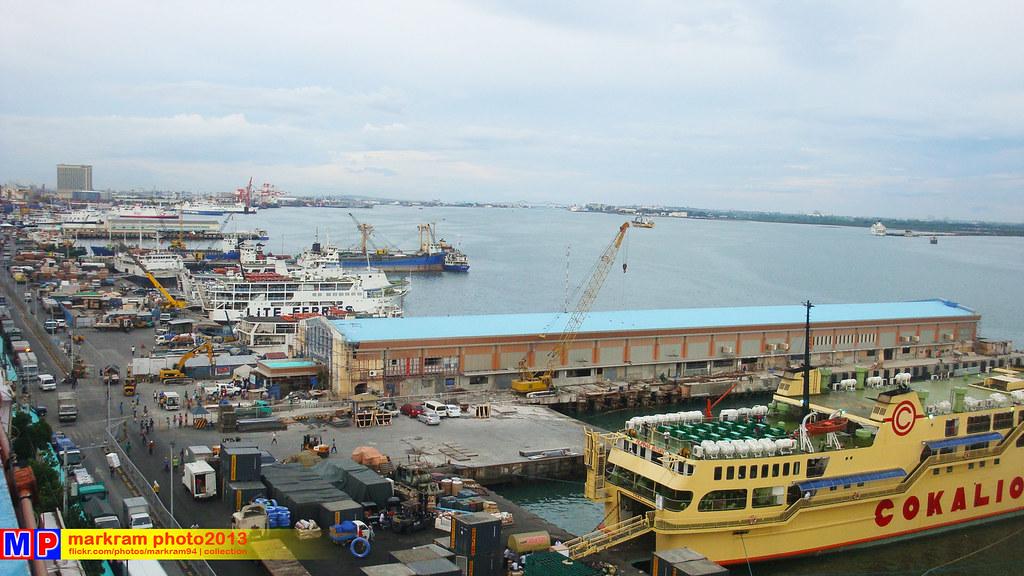 Cebu International Port and Mactan Channel