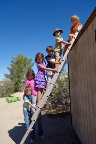group on ladder