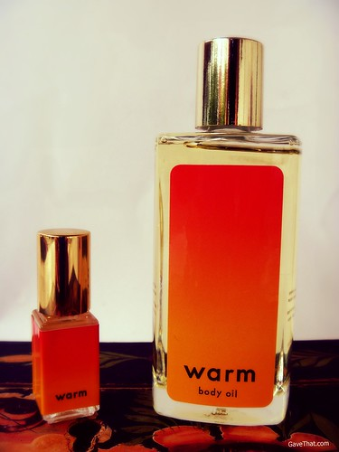 Warm NY Perfume and Body Oil